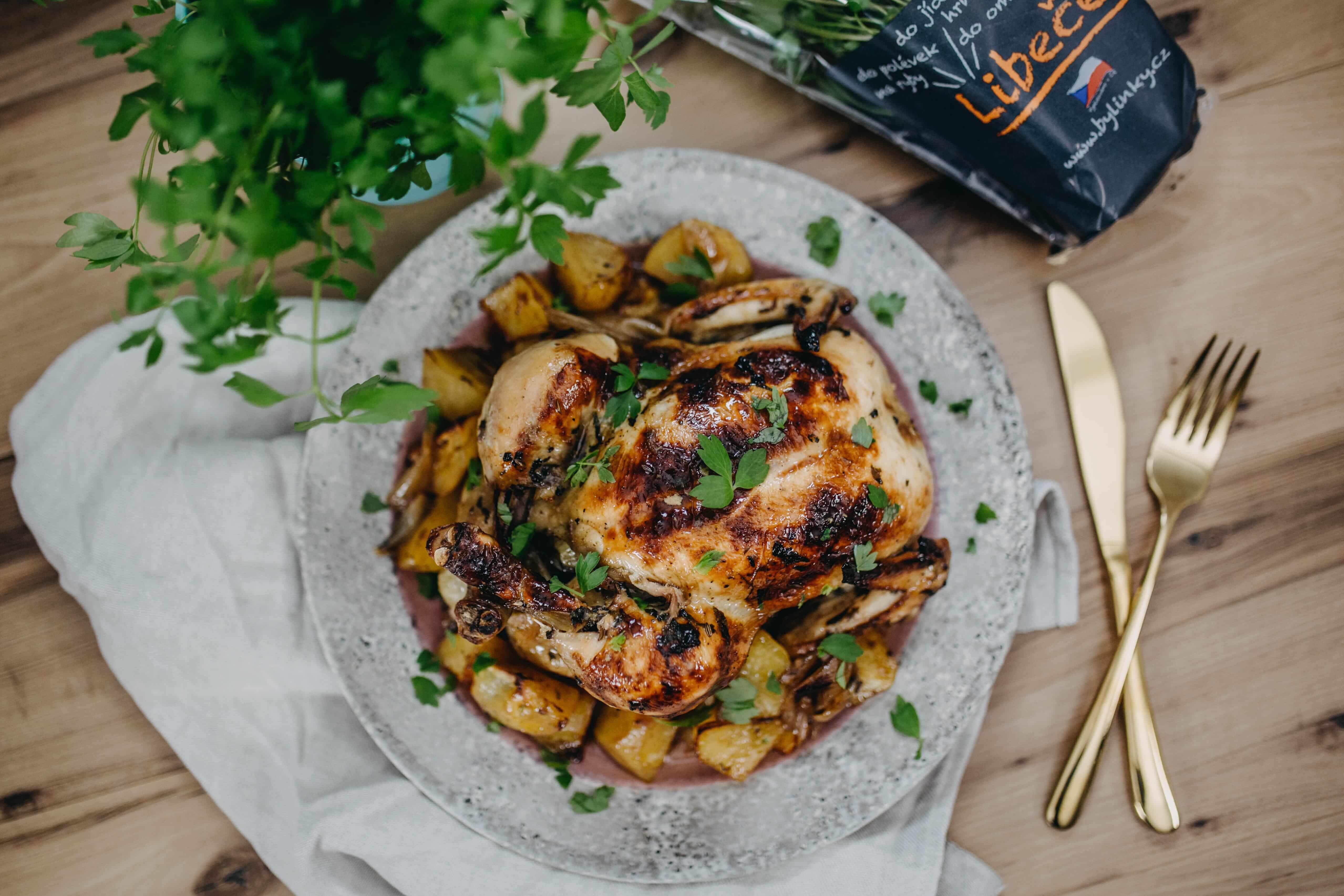 Medové kuře s libečkem