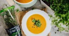 Dýňová polévka s rozmarýnem