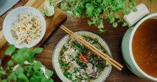 Vietnamská polévka Phở Bo