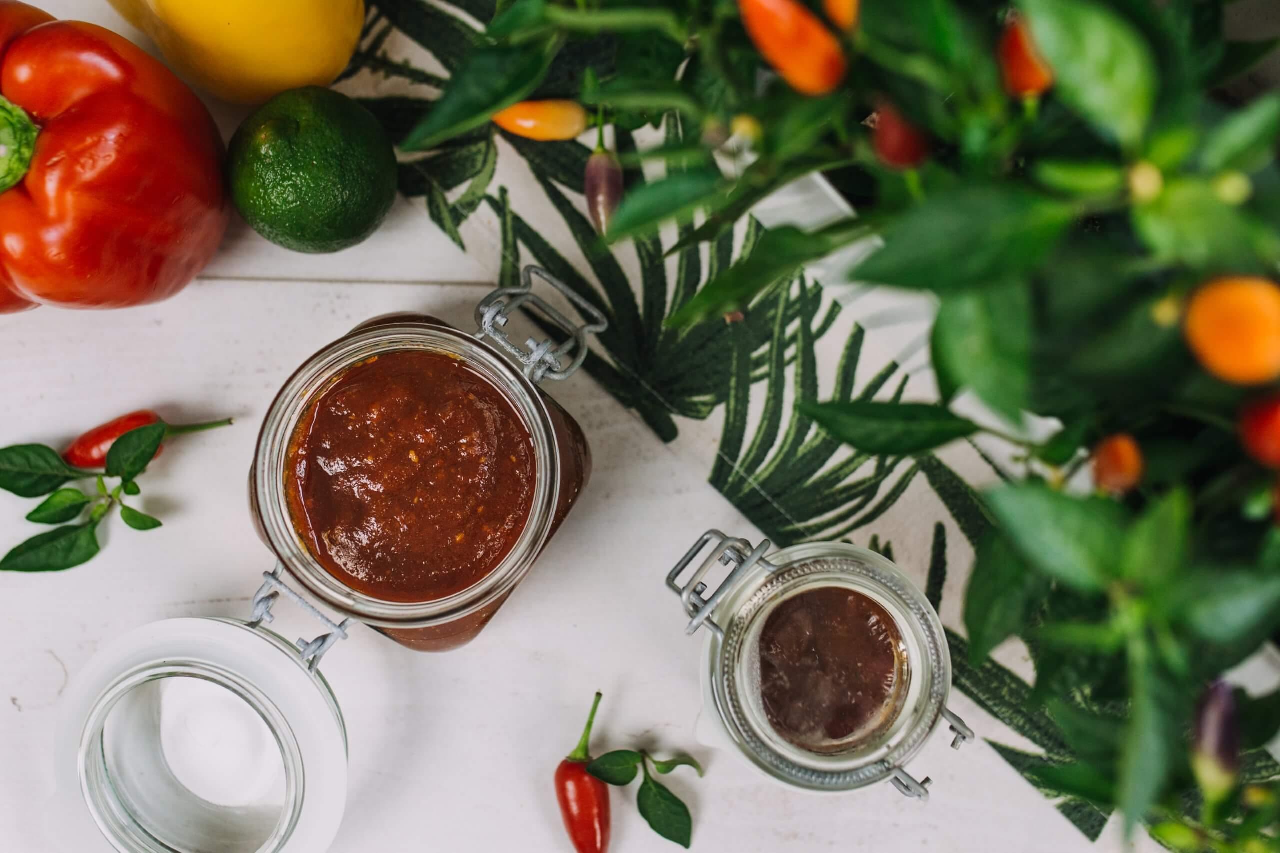 Sladkokyselá chilli omáčka