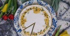 Medovo-citronový cheesecake s rozmarýnem
