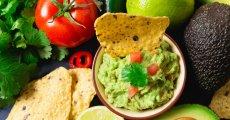 Avokádové guacamole s koriandrem
